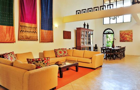 Galle Heritage Villa by Jetwing: Living area