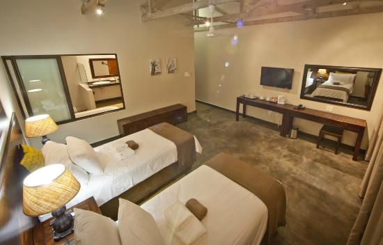 Bushveld Terrace Hotel & Guest House: Luxury room with twin beds