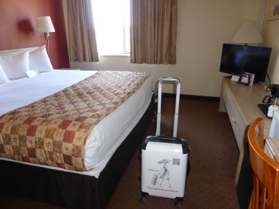 Ramada Anchorage: Standardzimmer ohne Balkon
