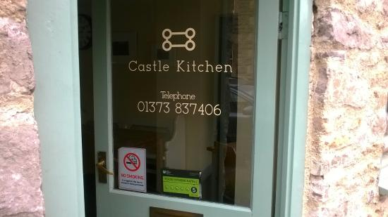 The Castle Kitchen: welcoming door
