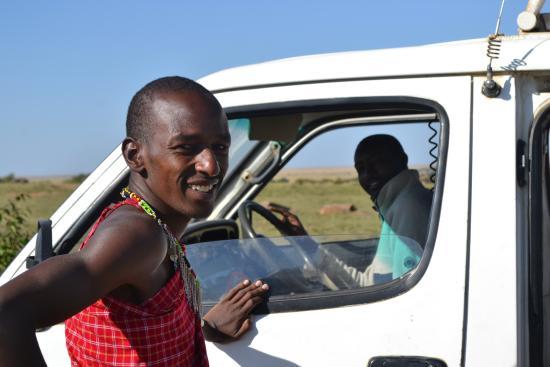 Oloi Karere Mara Camp : Guida Masai e Autista (Wilson e Dicson)