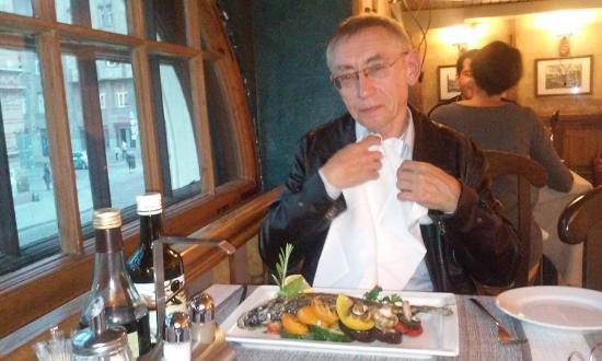 Ужин в ресторане Da Sergio, Rīga