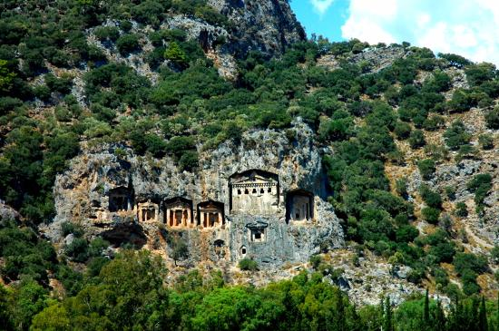 Lycian Rock Tombs