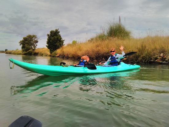 Les Salines : canoë