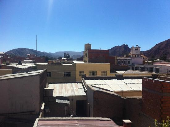 Hotel La Torre: View from the rooftop terrace