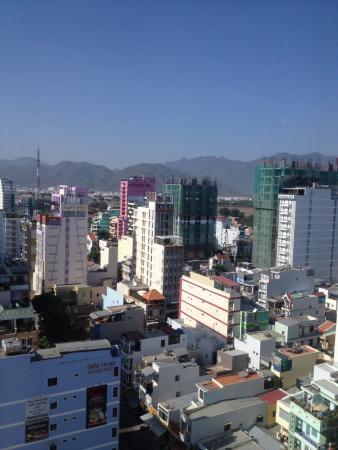 Liberty Central Nha Trang Hotel: вид из номера