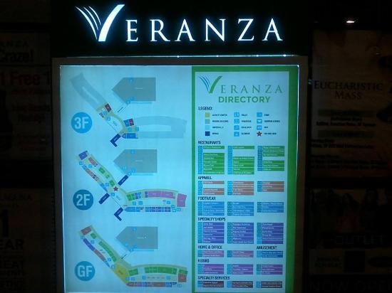 locator map inside - Picture of Veranza, General Santos - TripAdvisor