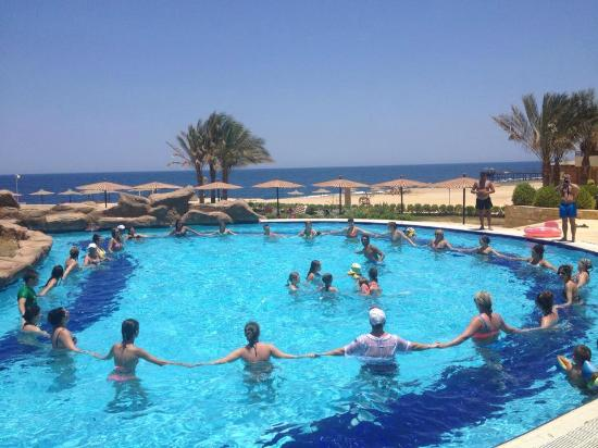 Coral Hills Resort Marsa Alam: Water gym