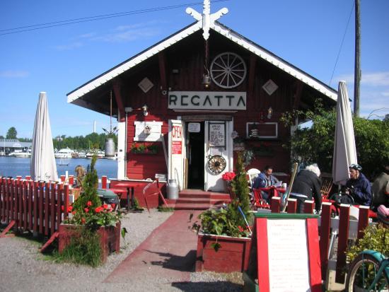 Cafe Regatta: セルフサービス