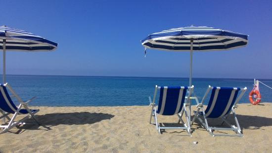 Hotel Poseidon : Spiaggia