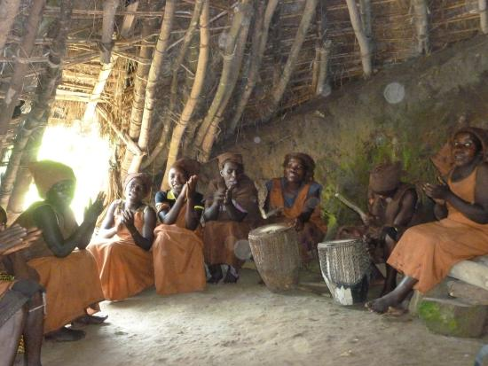 Bwindi Impenetrable National Park, Uganda: Batwa drumming