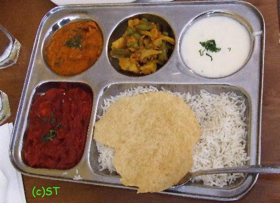 Shiraz Indian Restaurant walton street: Lunch Set 1