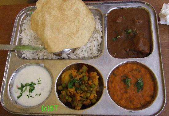 Shiraz Indian Restaurant walton street: Lunch Set 2