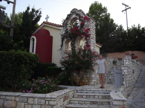 9 Muses Hotel Skala Beach: Lovely Church