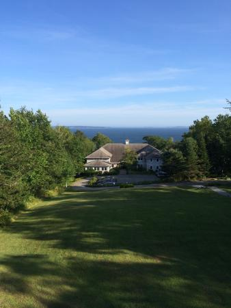 Lincolnville, ME: From Hilltop building