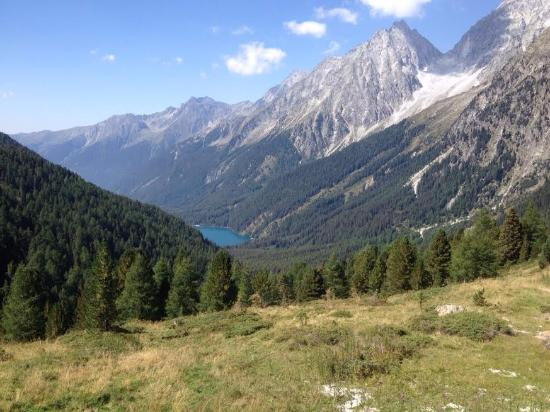 Rasun Anterselva, Ιταλία: Versante italiano visto dal Passo