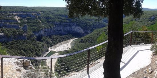 Gorges de l'Ardèche: Des aménagements splendides !