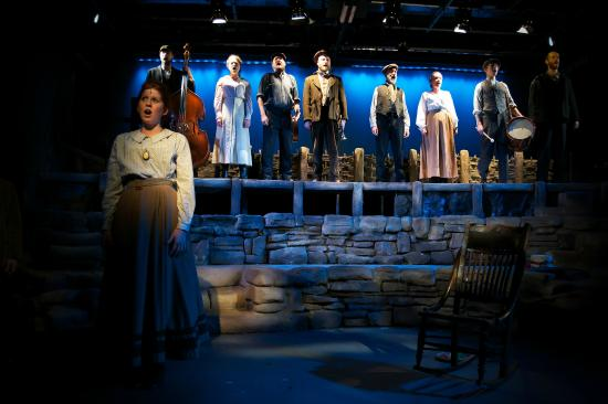 Bowness-on-Windermere, UK: The Hired Man production