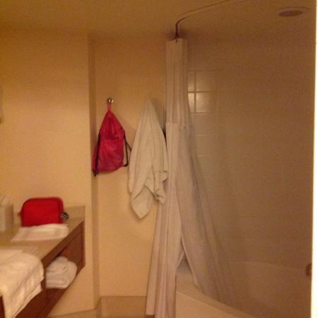 Tropicana Las Vegas - A DoubleTree by Hilton Hotel: Shower