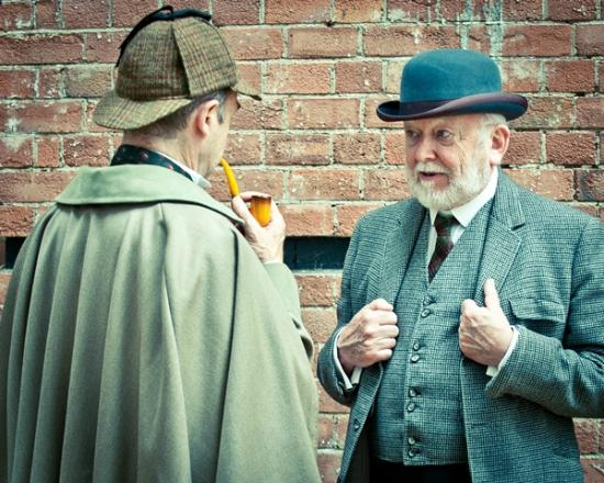 Bowness-on-Windermere, UK: Sherlock's Last Case production