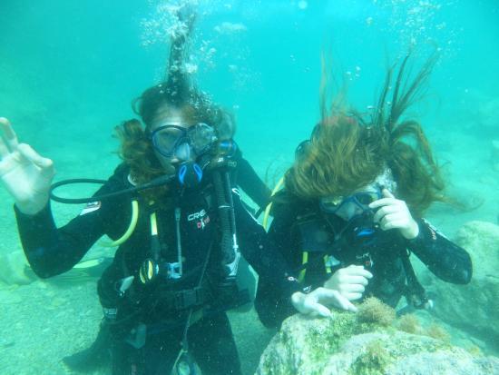 Omega Divers: Первый раз под водой.