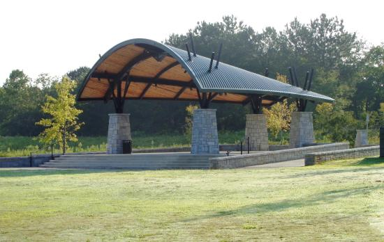 Covered Area Picture Of Etowah River Park Canton