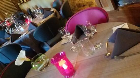 Domaine de Presle: aperçu du restaurant