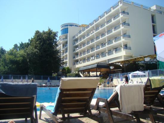 Sofia Hotel: вид с лежака