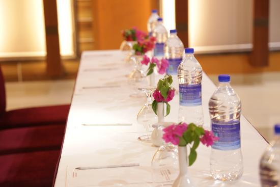 Lariya Resort A conference table setup & A conference table setup - Picture of Lariya Resort Jodhpur ...