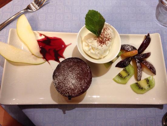 Ristorante L'Argentino: Tortino al cioccolato