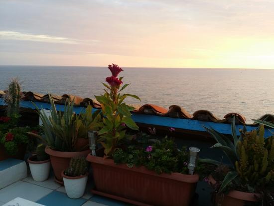 La Posada sul Golfo: terrazza