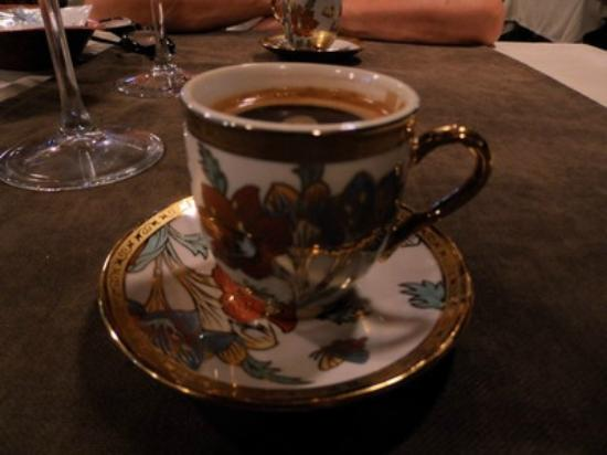 Small World Hotel: Turkish coffee