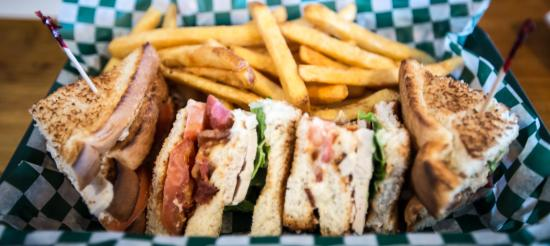 Pictou, Canadá: Clubhouse Sandwich