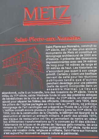 Basilique Saint-Pierre-aux-Nonnains : St Pierre aux Nonnains
