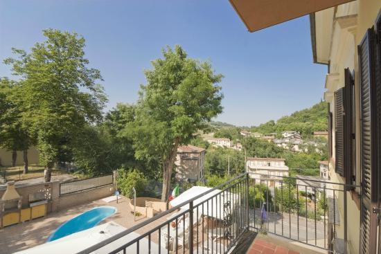 Raffaello Residence : View | Vista dal Balcone