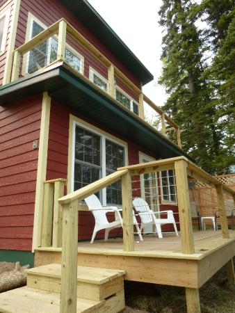 Gooseberry Cabins: Cabin 4 is double-decked!