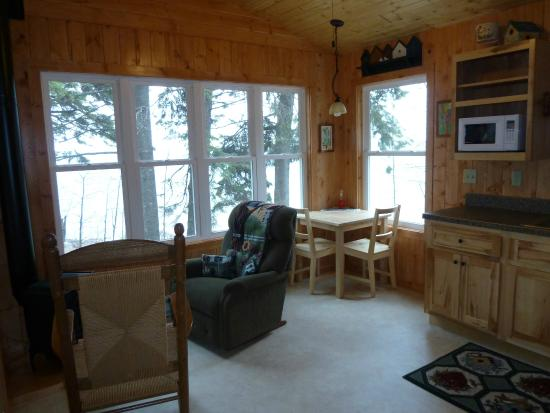 Gooseberry Cabins: Cabin 1 - lots of window, lots of Lake Superior