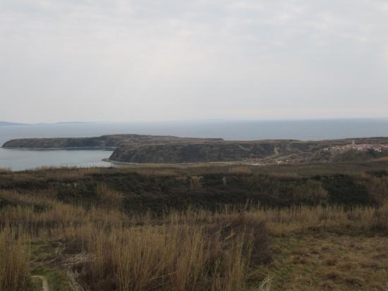 Susak lighthouse view