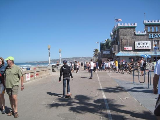 Mission Beach San Go Boardwalk The Best Beaches In World