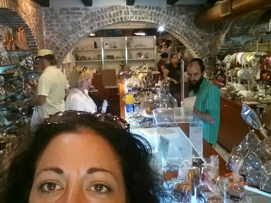 Miami Beach Chocolates: If you find yourself in north beach Miami.  Stop at this wonderful place.  LUSCIOUS! !!