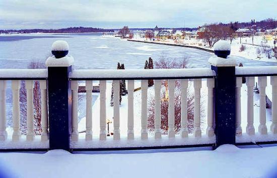 Gananoque, Canada: Winter Morning