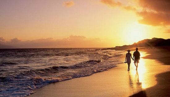 Alegranza: Beach