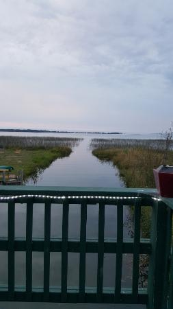 Brimley, MI: View from Pickles backyard patios.