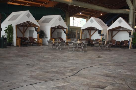 Cabanas picture of great wolf lodge concord concord for Indoor gardening minneapolis