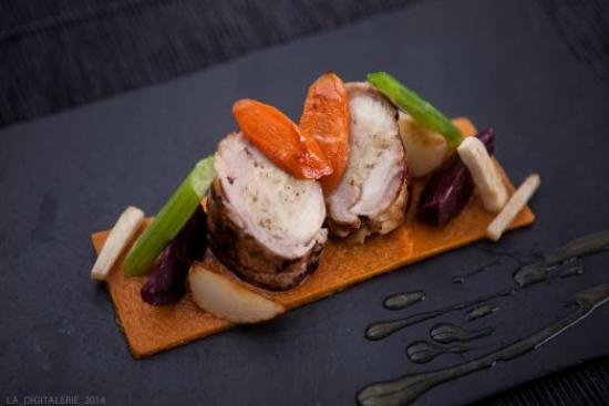 Restaurant Art et Galets : rable de lapin
