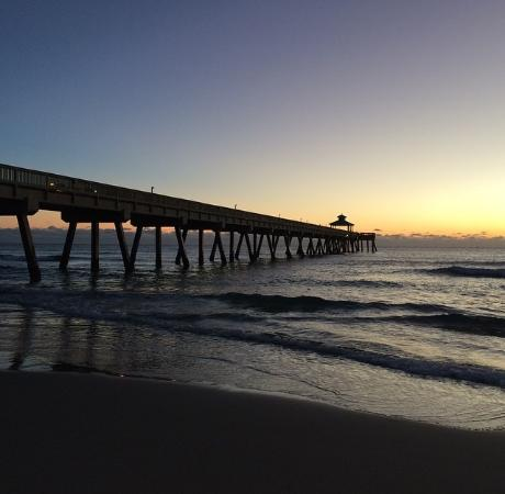 Sunrise picture of deerfield beach international fishing for Deerfield beach fishing charter