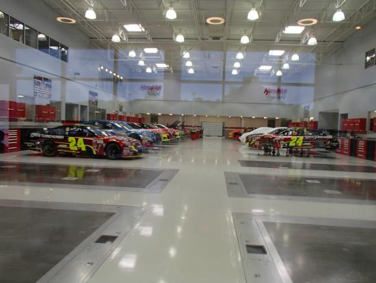 Very Clean Shop Picture Of Hendrick Motorsports Complex
