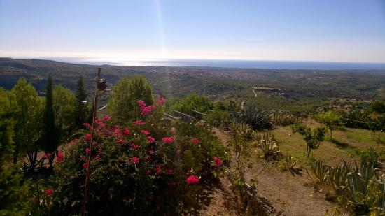 Bed and Breakfast Sierra Vento: fuori