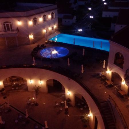 Marina Regia Residence: The night view from my balcony