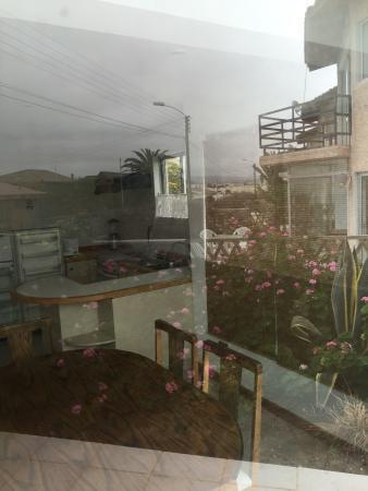 Bahia Inglesa, Chile: Exteriores Apart Hotel Playa Blanca